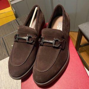 NEW Salvatore Ferragamo Arlin Horsebit Loafer